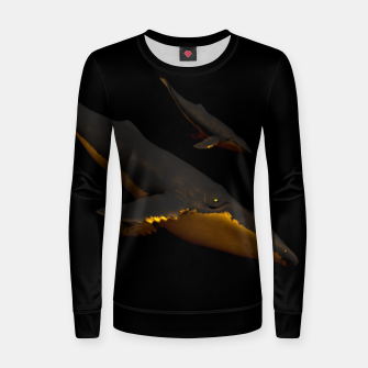 Thumbnail image of Bond III Woman cotton sweater, Live Heroes