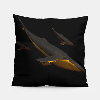 Thumbnail image of Bond III Pillow, Live Heroes