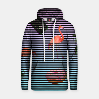 Thumbnail image of minimalist stripes Cotton hoodie, Live Heroes