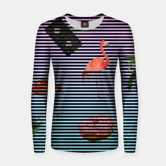 Thumbnail image of minimalist stripes Woman cotton sweater, Live Heroes