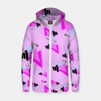 Thumbnail image of Overloaded Cotton zip up hoodie, Live Heroes