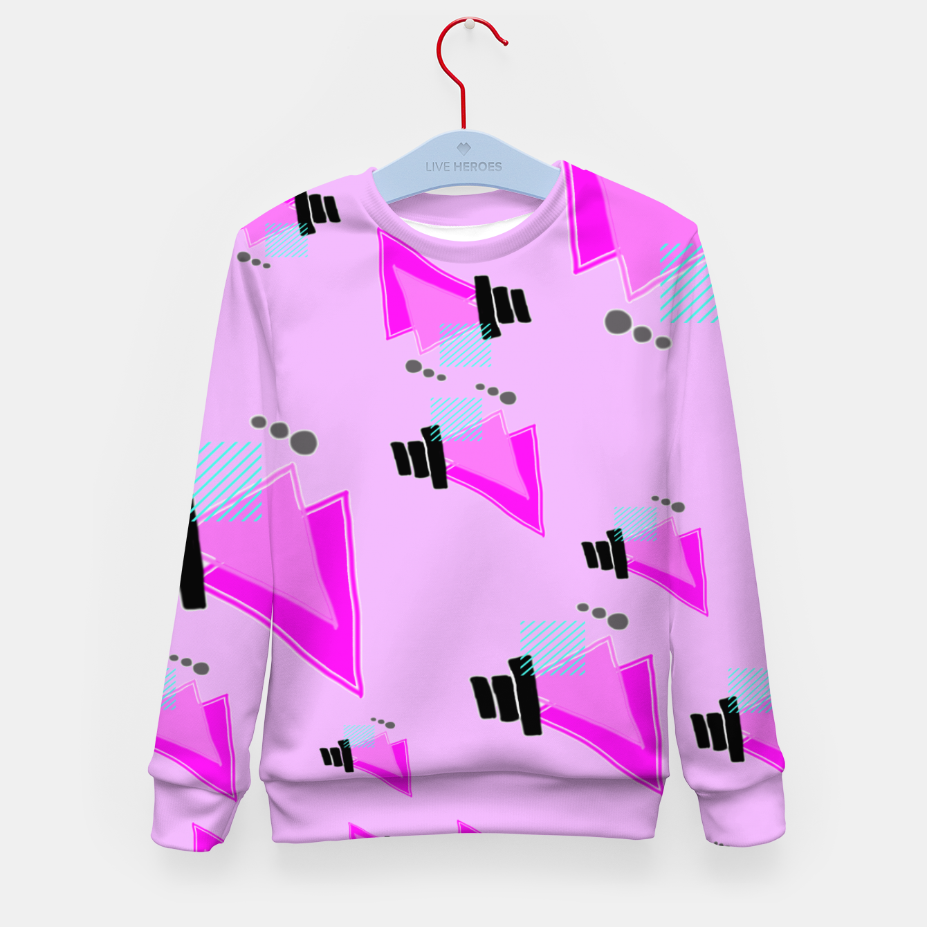 Image of Overloaded Kid's sweater - Live Heroes