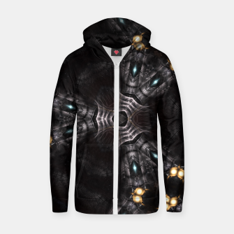Thumbnail image of Trans Robotics Cotton zip up hoodie, Live Heroes