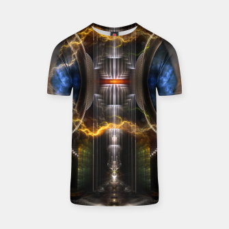 Thumbnail image of Nuclear Fusion Reactor T-shirt, Live Heroes