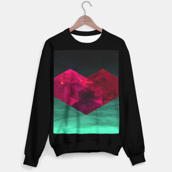 Thumbnail image of Heart of the deep ocean by #Bizzartino Sweater regular, Live Heroes