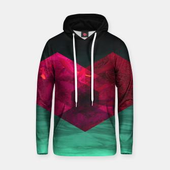Thumbnail image of Heart of the deep ocean by #Bizzartino Cotton hoodie, Live Heroes