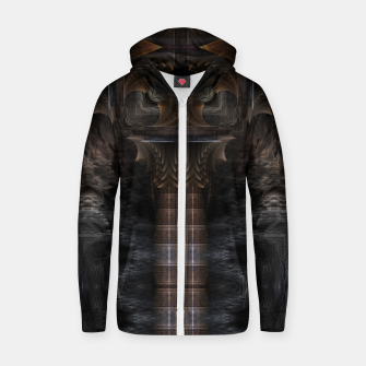 Thumbnail image of Steampunk Bypass Cotton zip up hoodie, Live Heroes