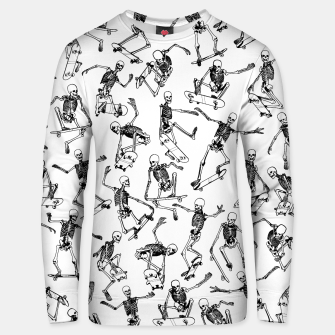 Thumbnail image of Grim Ripper WHITE Cotton sweater, Live Heroes