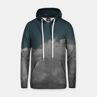 Thumbnail image of Cloudy blue Cotton hoodie, Live Heroes