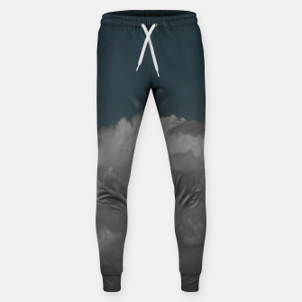 Thumbnail image of Cloudy blue Cotton sweatpants, Live Heroes