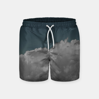 Thumbnail image of Cloudy blue Swim Shorts, Live Heroes