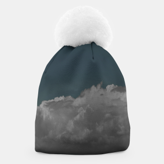Thumbnail image of Cloudy blue Beanie, Live Heroes