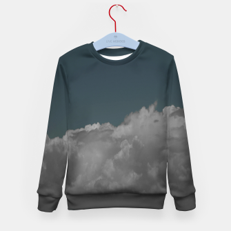 Thumbnail image of Cloudy blue Kid's sweater, Live Heroes