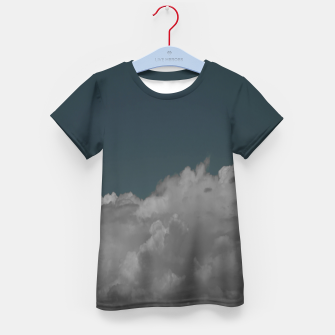 Thumbnail image of Cloudy blue Kid's t-shirt, Live Heroes