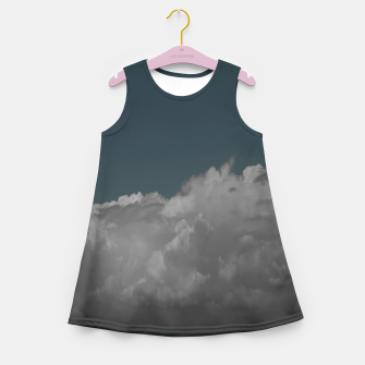 Thumbnail image of Cloudy blue Girl's summer dress, Live Heroes