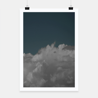 Thumbnail image of Cloudy blue Poster, Live Heroes