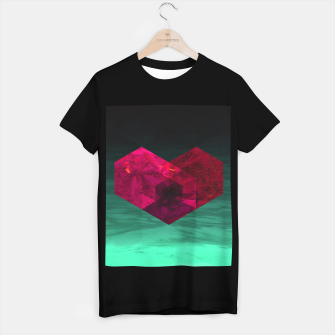 Thumbnail image of Heart of the deep ocean by #Bizzartino T-shirt regular, Live Heroes
