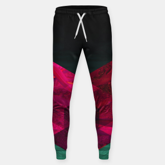 Thumbnail image of Heart of the deep ocean by #Bizzartino Cotton sweatpants, Live Heroes
