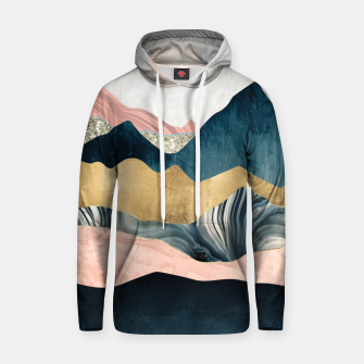 Thumbnail image of Plush Peaks Cotton hoodie, Live Heroes