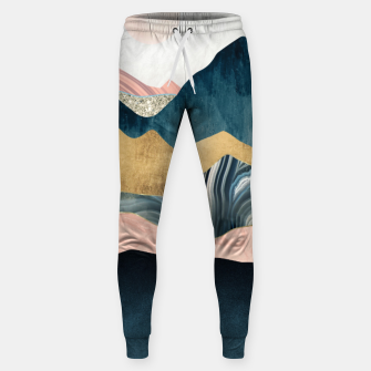 Thumbnail image of Plush Peaks Cotton sweatpants, Live Heroes
