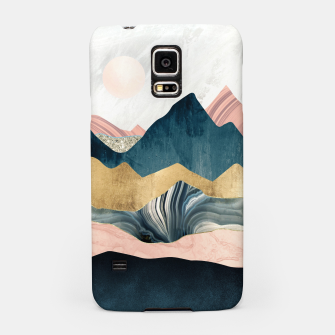 Thumbnail image of Plush Peaks Samsung Case, Live Heroes