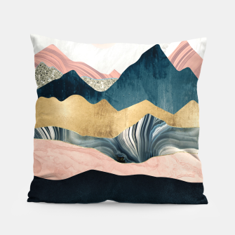 Thumbnail image of Plush Peaks Pillow, Live Heroes