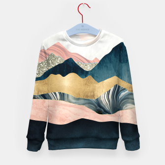Thumbnail image of Plush Peaks Kid's sweater, Live Heroes