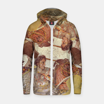 Miniaturka Mosaic I Cotton zip up hoodie, Live Heroes