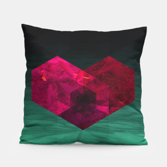 Thumbnail image of Heart of the deep ocean by #Bizzartino Pillow, Live Heroes