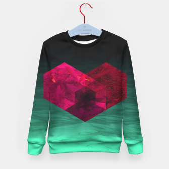 Thumbnail image of Heart of the deep ocean by #Bizzartino Kid's sweater, Live Heroes