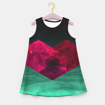 Thumbnail image of Heart of the deep ocean by #Bizzartino Girl's summer dress, Live Heroes