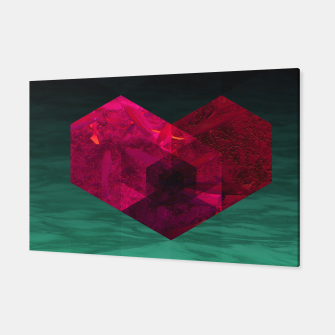 Thumbnail image of Heart of the deep ocean by #Bizzartino Canvas, Live Heroes
