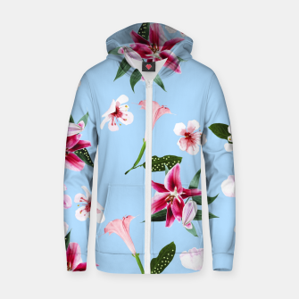 Thumbnail image of Oenomel Cotton zip up hoodie, Live Heroes