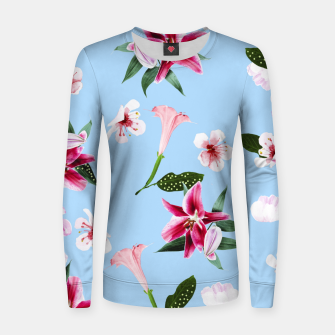 Thumbnail image of Oenomel Woman cotton sweater, Live Heroes