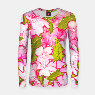 Thumbnail image of Pink Wonder Woman cotton sweater, Live Heroes