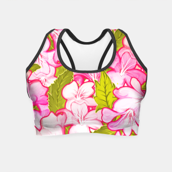 Thumbnail image of Pink Wonder Crop Top, Live Heroes