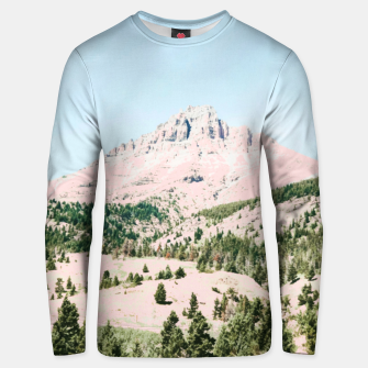 Thumbnail image of Happy Mountain Cotton sweater, Live Heroes