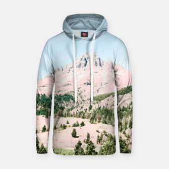 Thumbnail image of Happy Mountain Cotton hoodie, Live Heroes