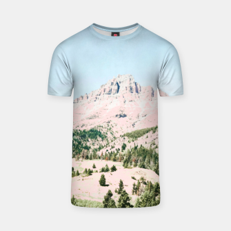 Thumbnail image of Happy Mountain T-shirt, Live Heroes