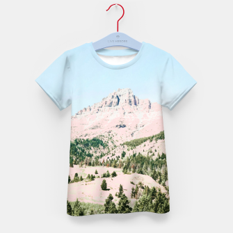 Thumbnail image of Happy Mountain Kid's t-shirt, Live Heroes
