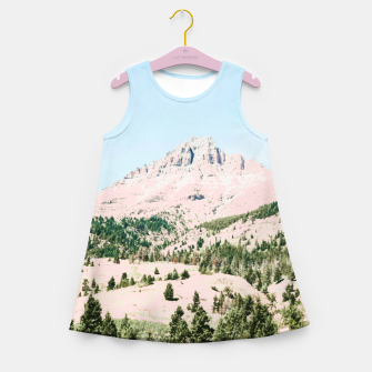 Thumbnail image of Happy Mountain Girl's summer dress, Live Heroes