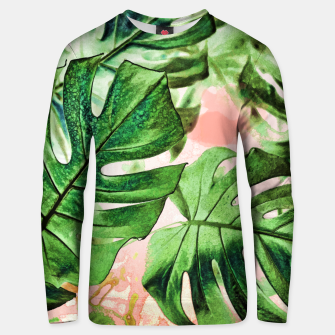 Thumbnail image of Monstera Beauty Cotton sweater, Live Heroes