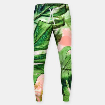 Thumbnail image of Monstera Beauty Cotton sweatpants, Live Heroes