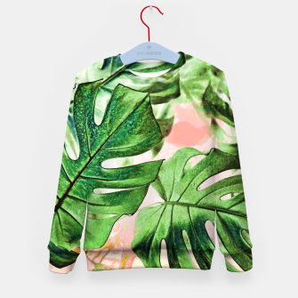 Thumbnail image of Monstera Beauty Kid's sweater, Live Heroes