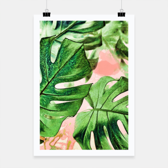 Thumbnail image of Monstera Beauty Poster, Live Heroes