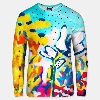 Thumbnail image of Floral Graffiti Cotton sweater, Live Heroes