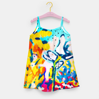 Thumbnail image of Floral Graffiti Girl's dress, Live Heroes