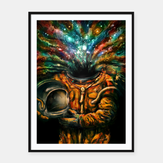 Thumbnail image of Inhale Framed poster, Live Heroes