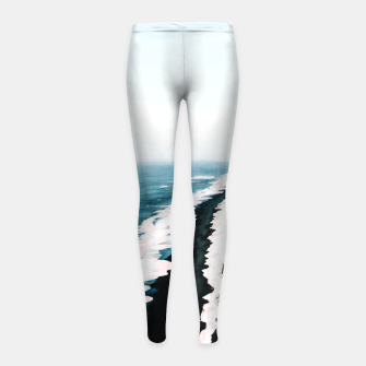 Thumbnail image of Pink Sand Girl's leggings, Live Heroes