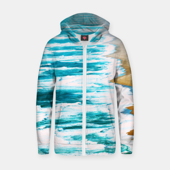 Thumbnail image of Live By The Sea Cotton zip up hoodie, Live Heroes